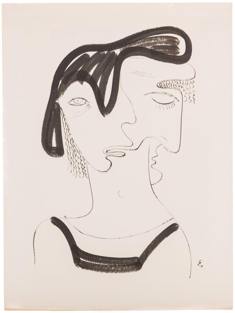 Lot 472: Eugene Biel Bienne Drawing