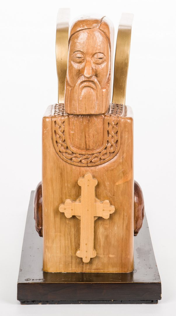 Lot 483: Ted Jones, TN, Carved Sculpture