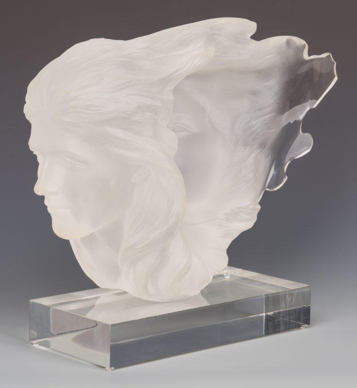 Lot 484: Frederick Elliot Hart Sculpture, Herself