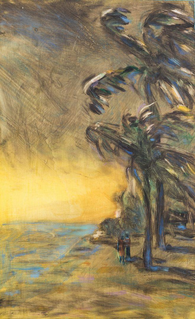 Lot 489: 2 Susan Hall Landscape Paintings