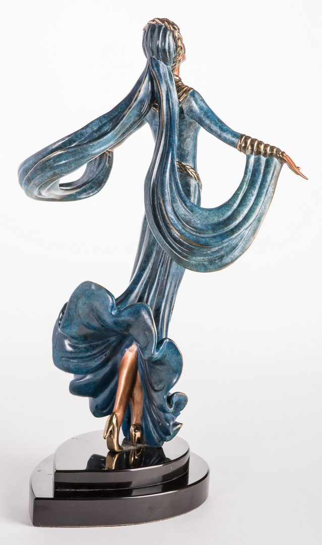 Lot 496: Erte Sculpture, Ecstasy