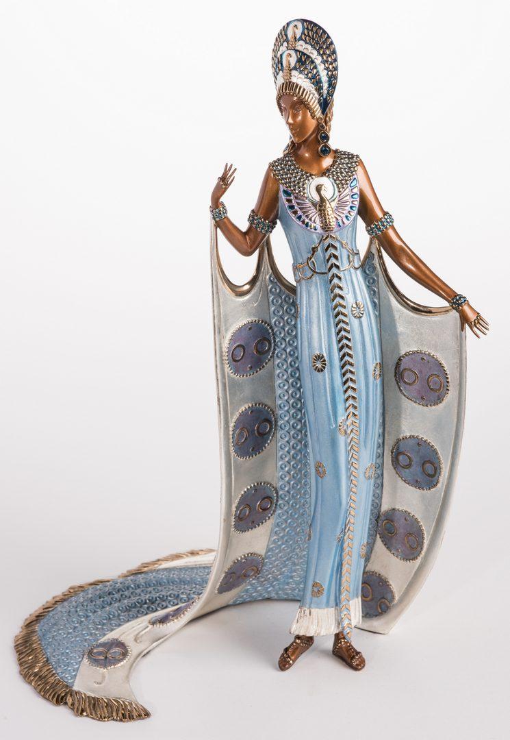 Lot 498: Erte Sculpture, Iras