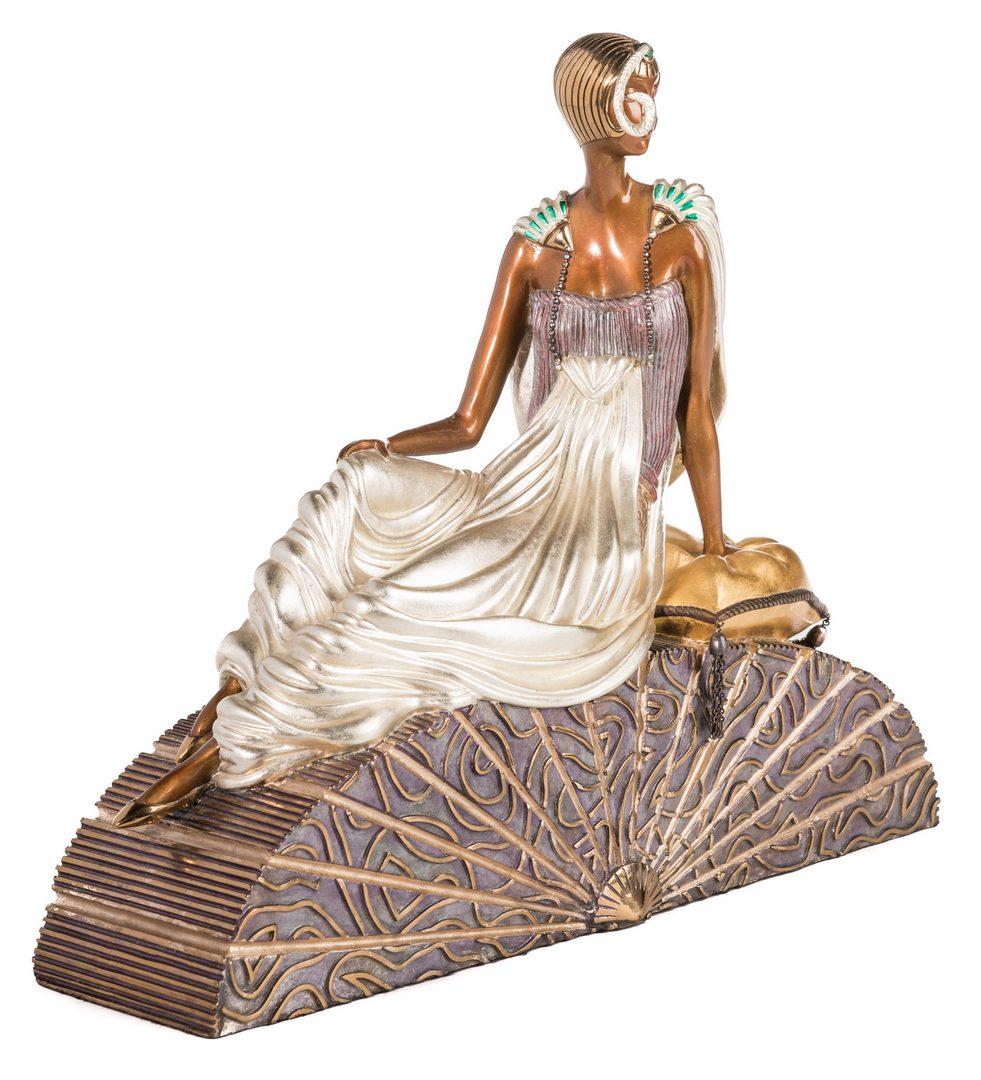 Lot 499: Erte Sculpture, King's Favorite