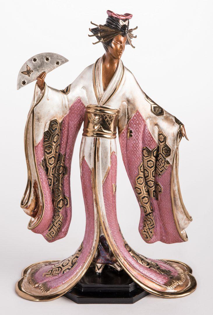 Lot 500: Erte Sculpture, Madame Butterfly