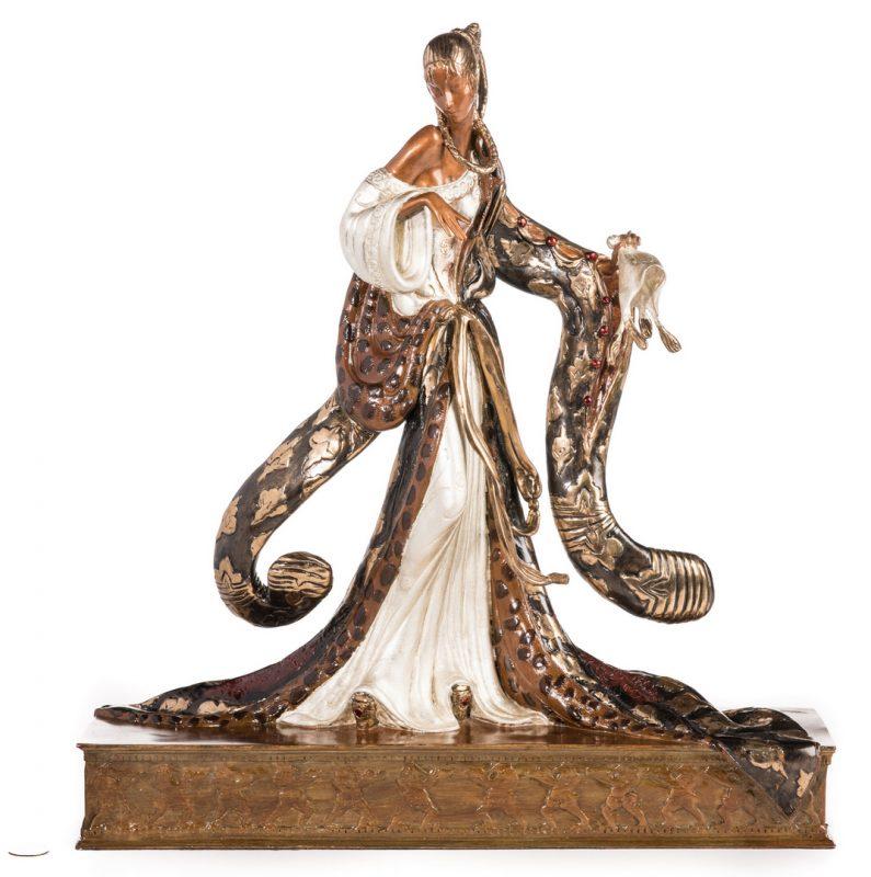 Lot 501: Erte Sculpture, Rigoletto