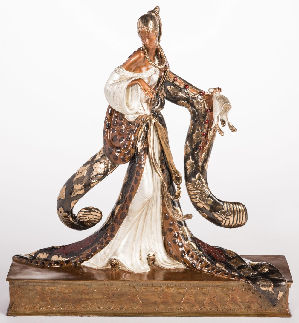 Lot 501: Erte Sculpture, Rigoletto