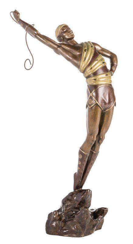 Lot 503: Erte Sculpture, Le Danseur