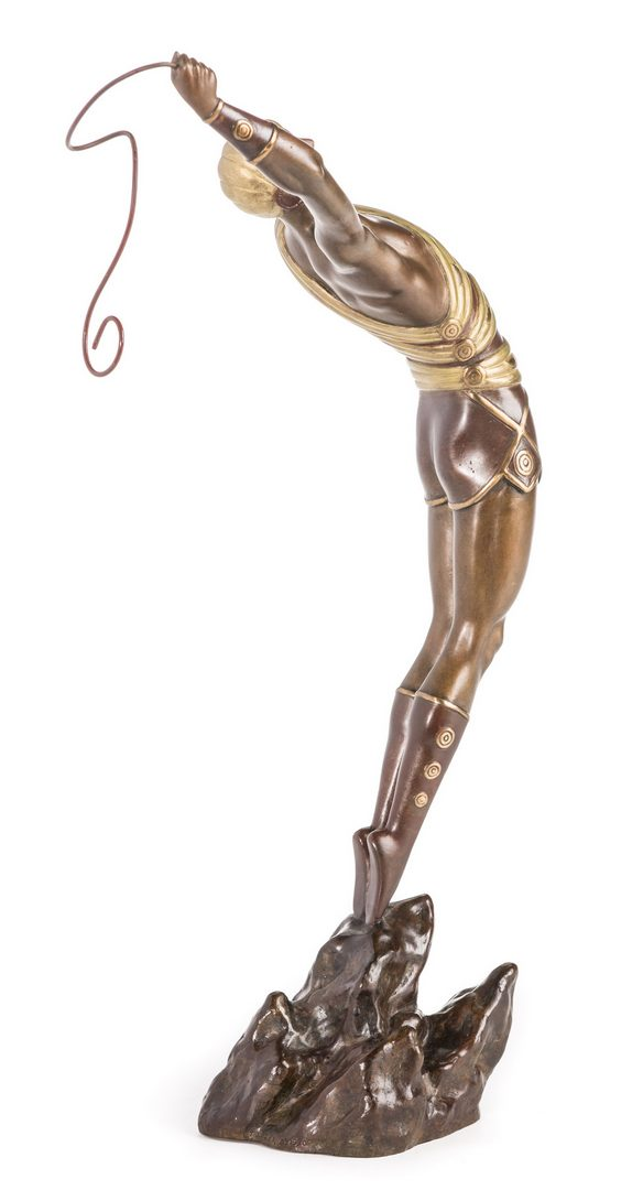 Lot 503: Erte Sculpture, Le Danseur