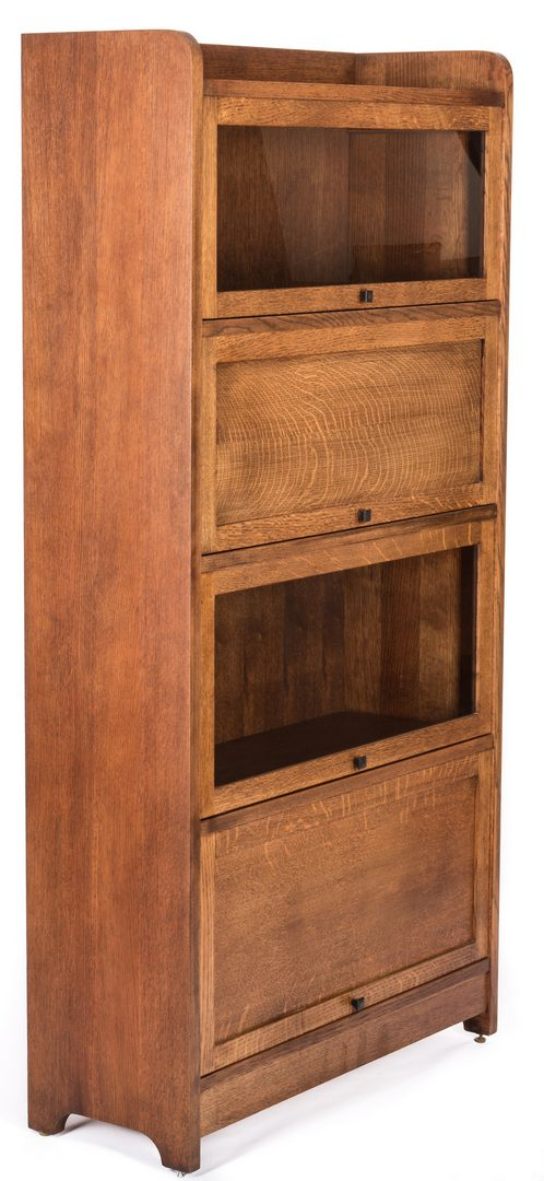 Lot 510: Contemporary Stickley Barrister Bookcase