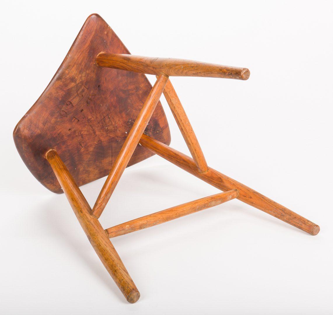Lot 512: Wharton Esherick three-legged stool