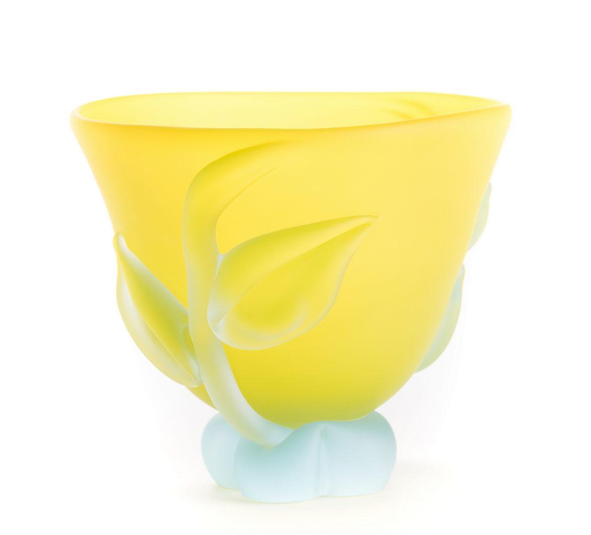 Lot 515: Tommie Rush Art Glass Vase