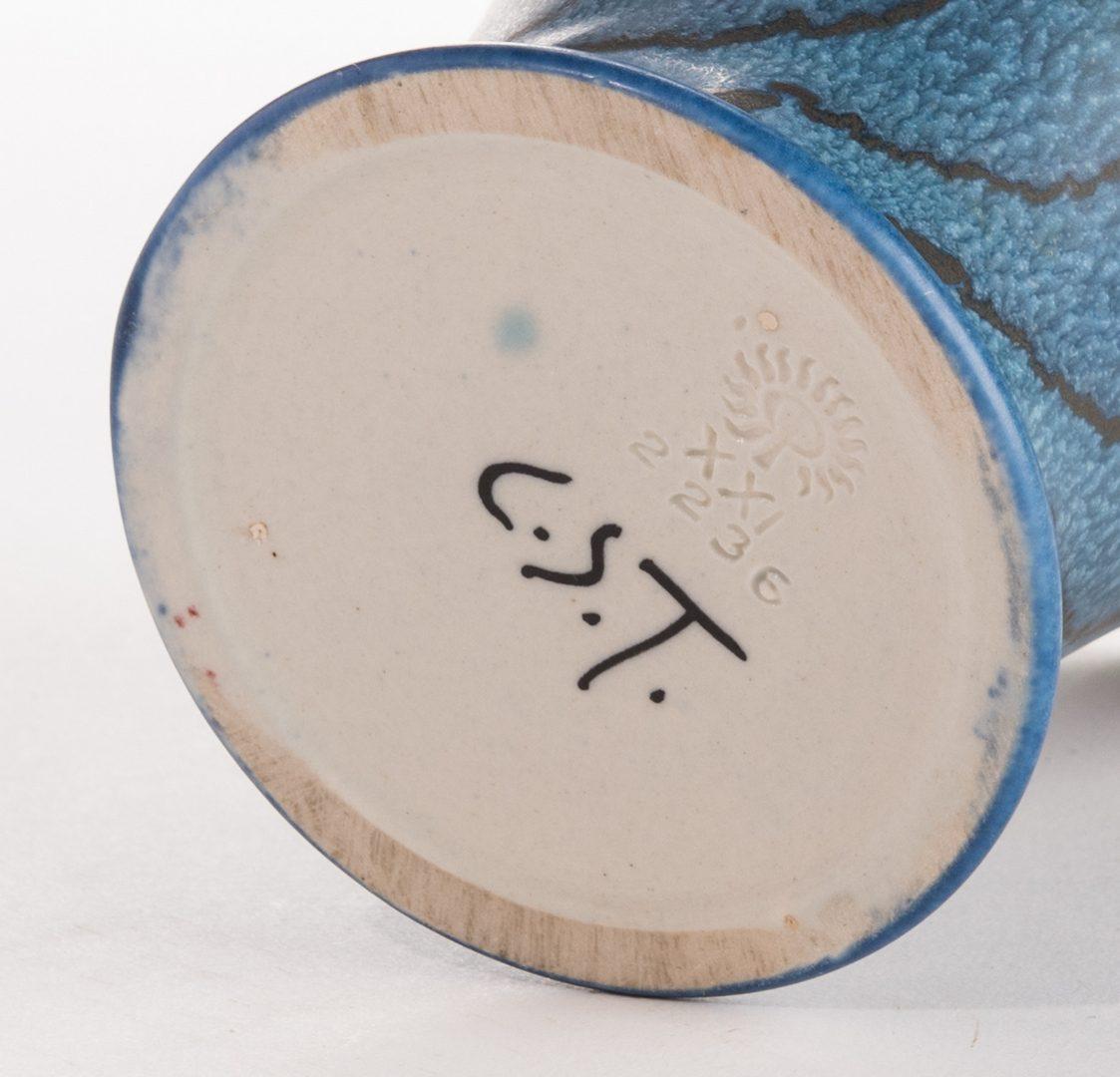Lot 521: Rookwood Vase, Charles Stewart Todd, 1921
