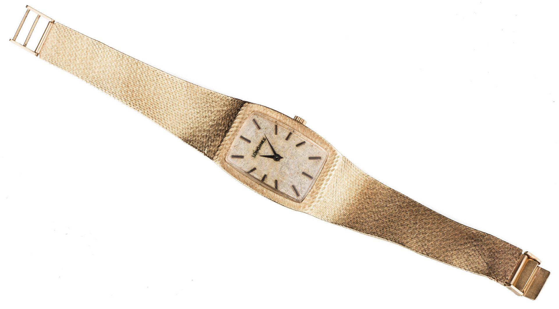 Lot 527: Gents 14K Longines Wristwatch