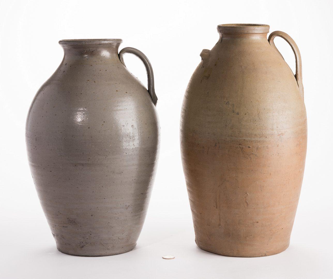 Lot 563: 2 Large Middle TN Stoneware Honey Jars
