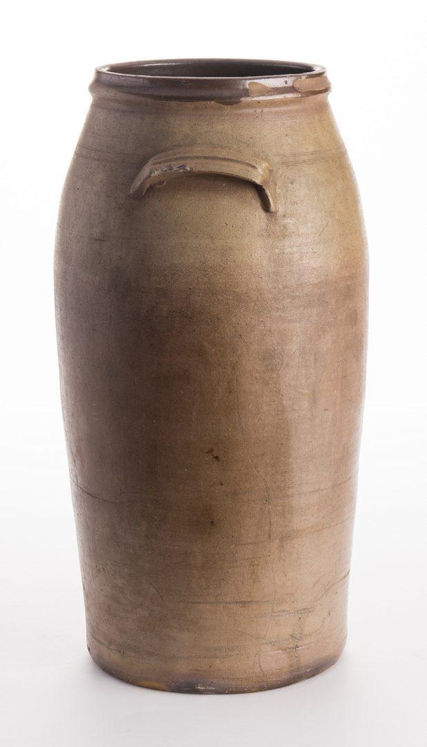 Lot 564: 2 Large Middle TN Stoneware Jars, attrib. LaFever
