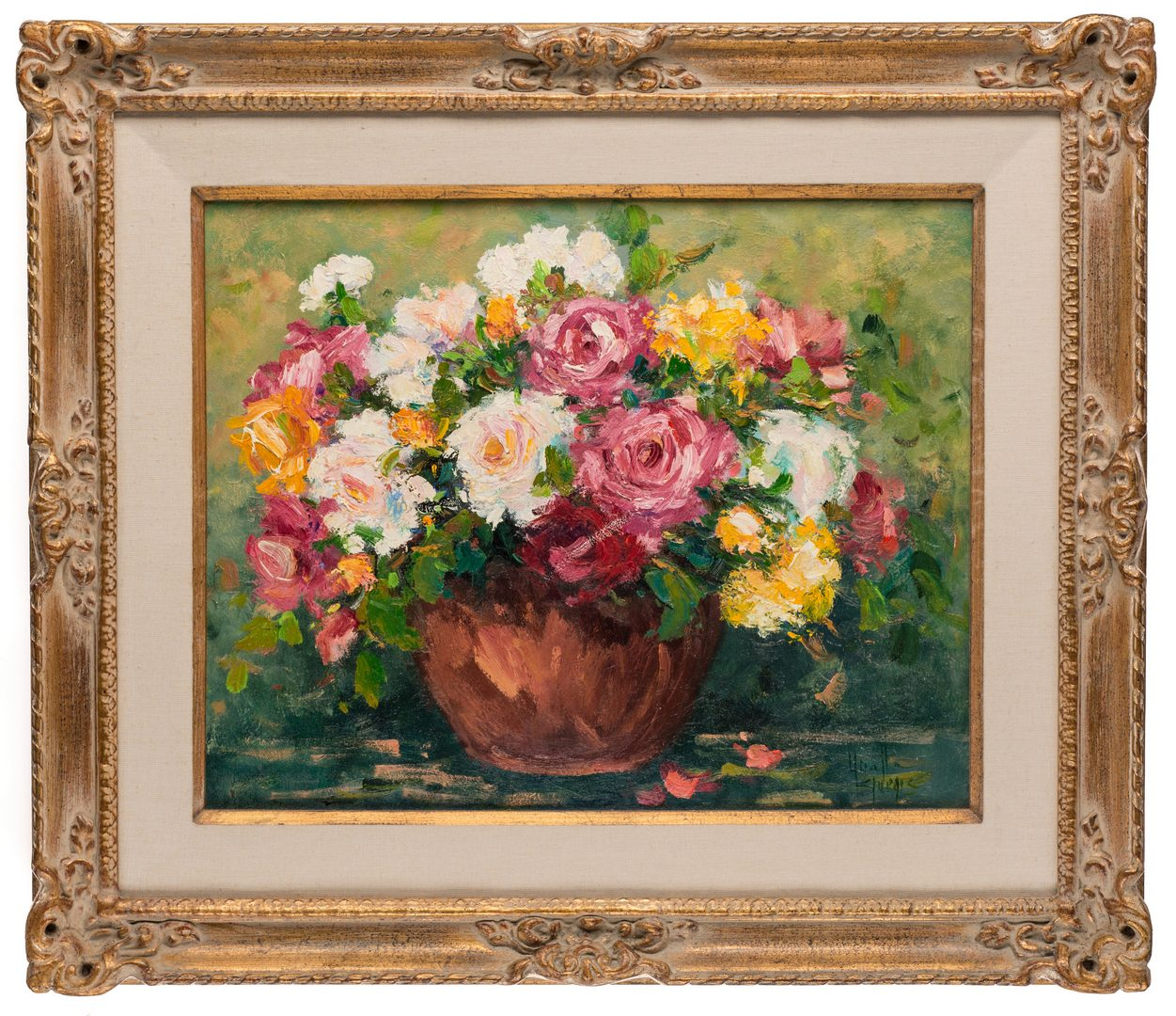 Lot 567: Yvette Sturgis, O/C, Still Life Painting