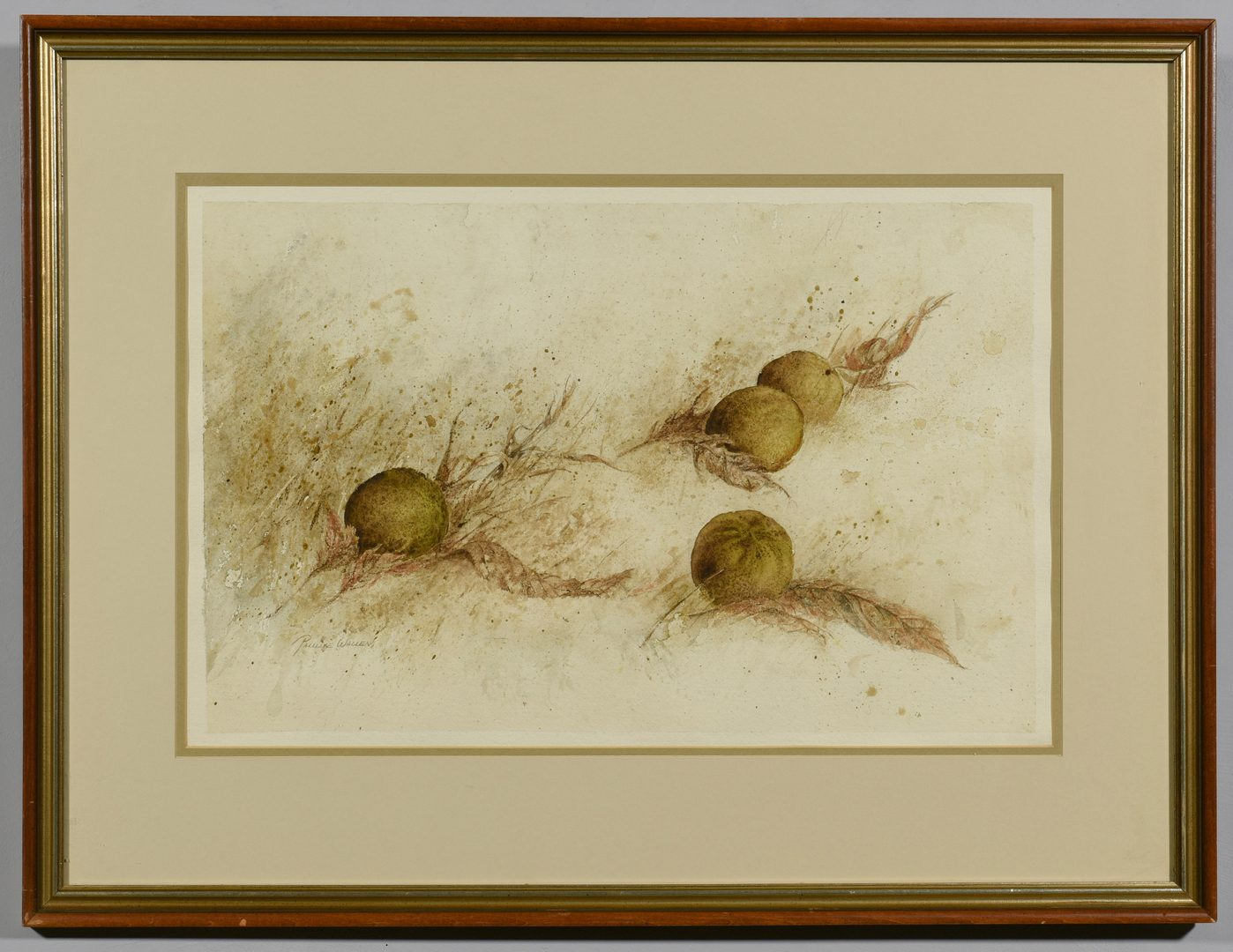Lot 573: 3 Pauline Wallen, W/C, Country Life Scenes