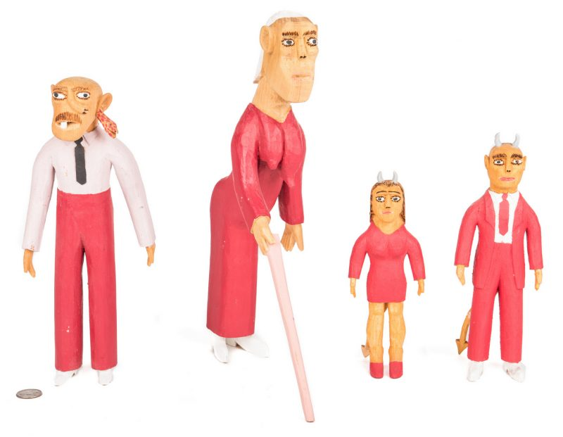 Lot 578: 4 Sulton Rogers Figures