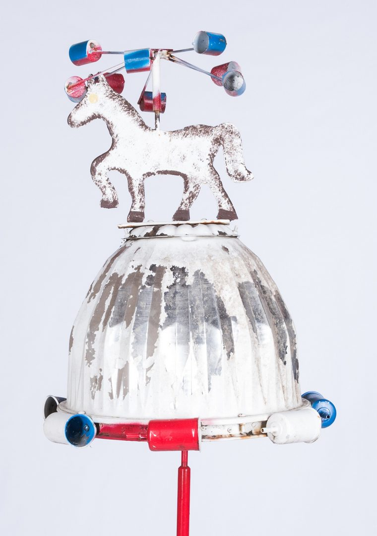 Lot 589: Vollis Simpson Folk Art Whirligig Sculpture