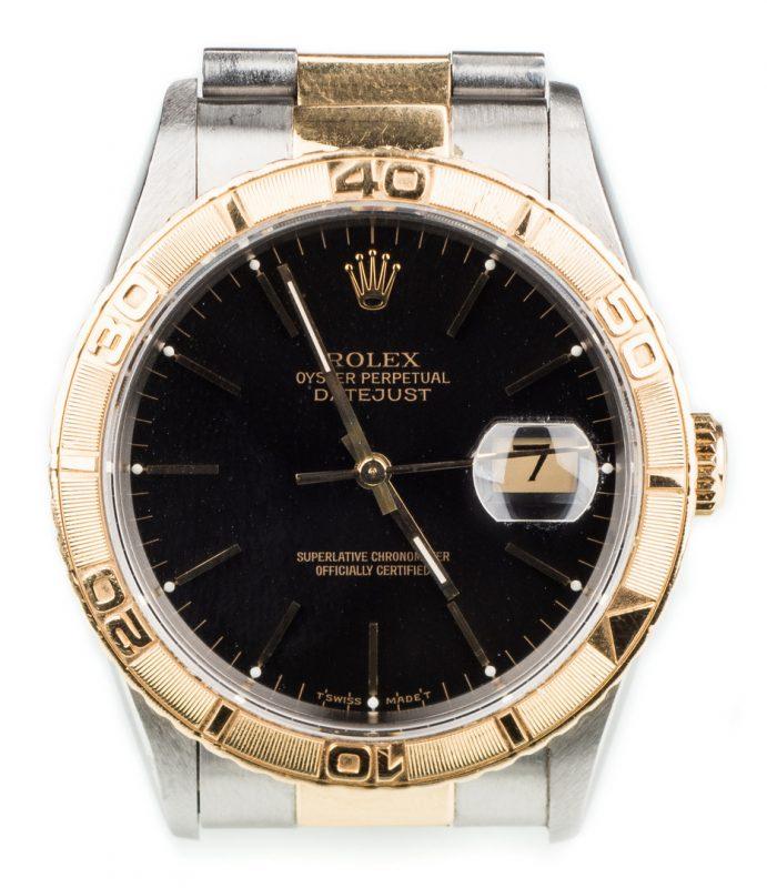 Lot 58: Men's Rolex Datejust Thunderbird Watch