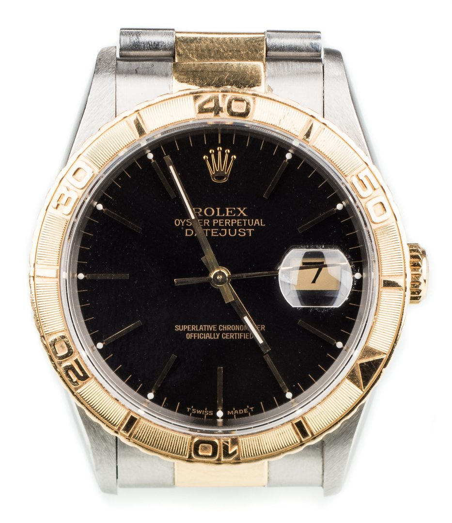 Lot 58: Men's Rolex Datejust Thunderbird Watch