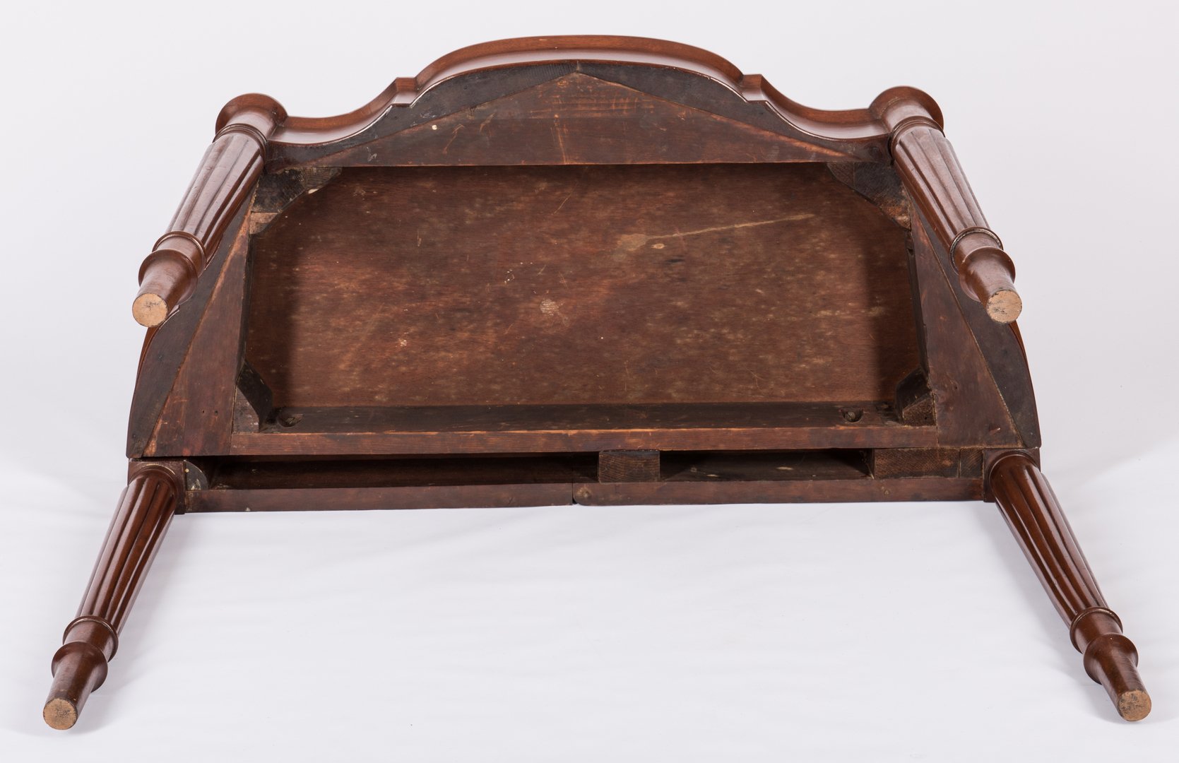 Lot 599 american sheraton mahogany card table for 101 great american poems table of contents