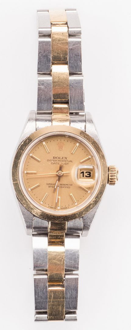 Lot 59: Ladies 26mm Datejust Two-tone Rolex