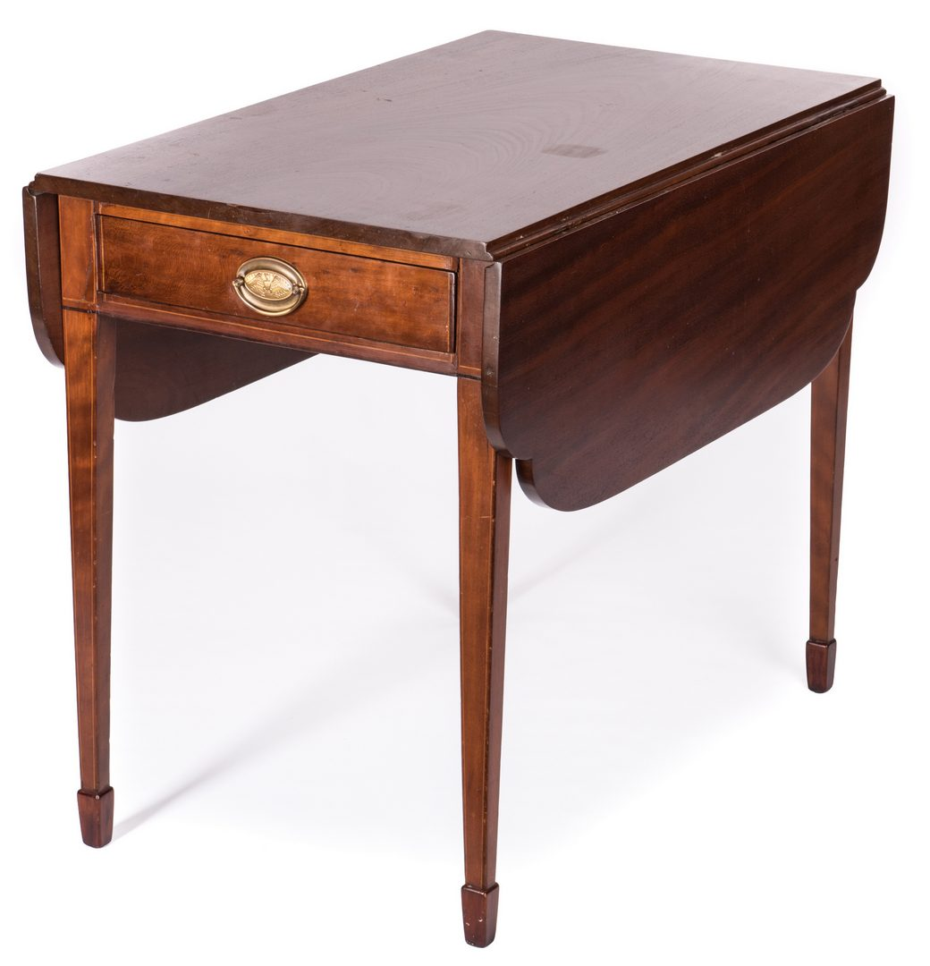 Lot 601: Federal Pembroke Table, Mahogany
