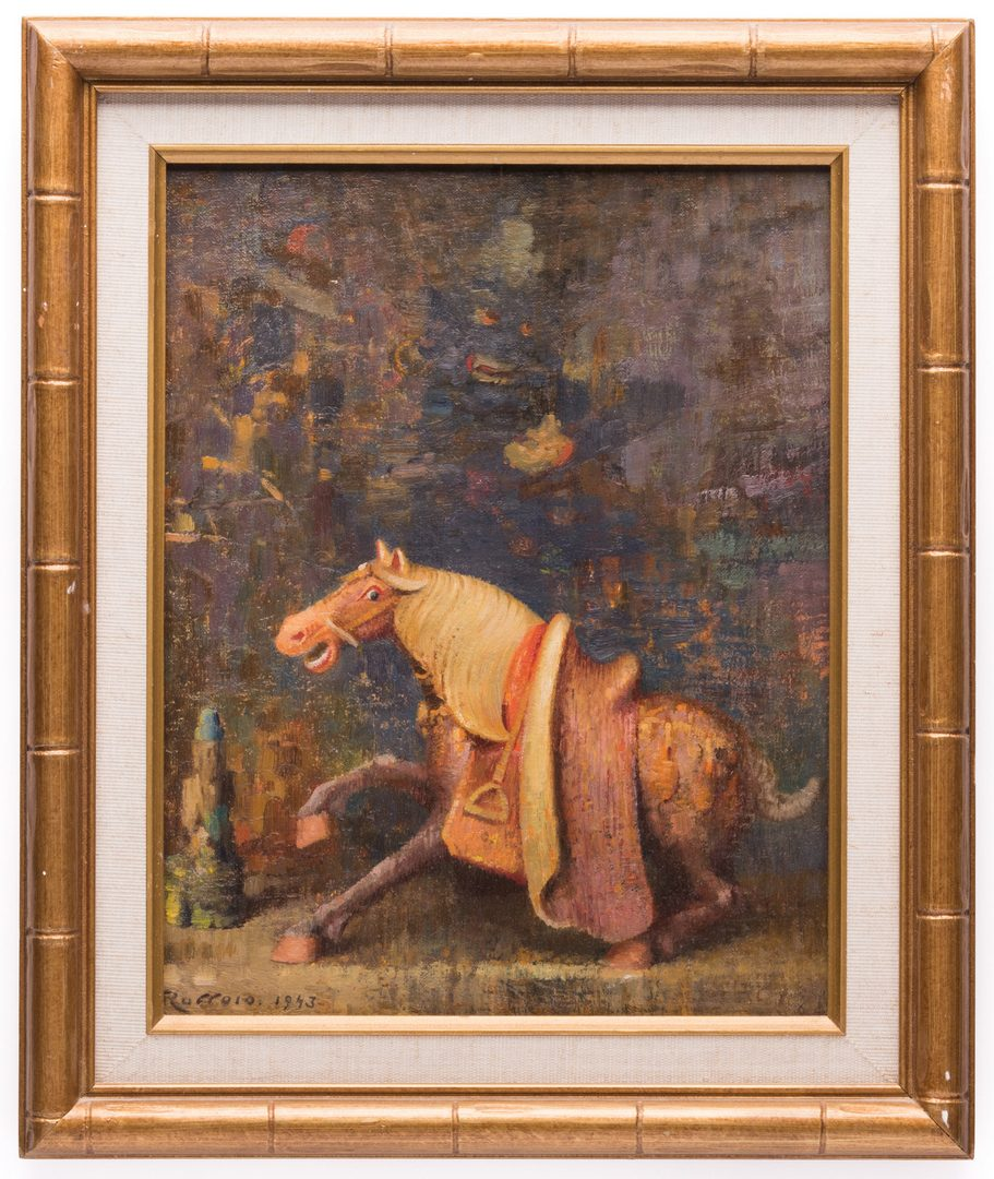 Lot 606: 2 Gaspere Ruffolo Still LIfes