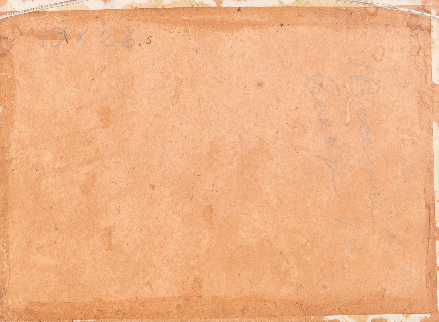 Lot 616: 2 Russian School Impressionist Landscape Paintings