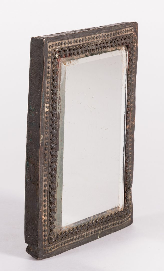 Lot 651: Indian Pandan Box & Persian Mirror, 8 items