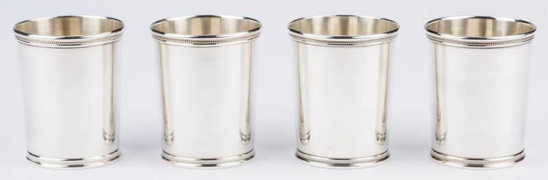 Lot 688: 4 Trees Kentucky Julep Cups