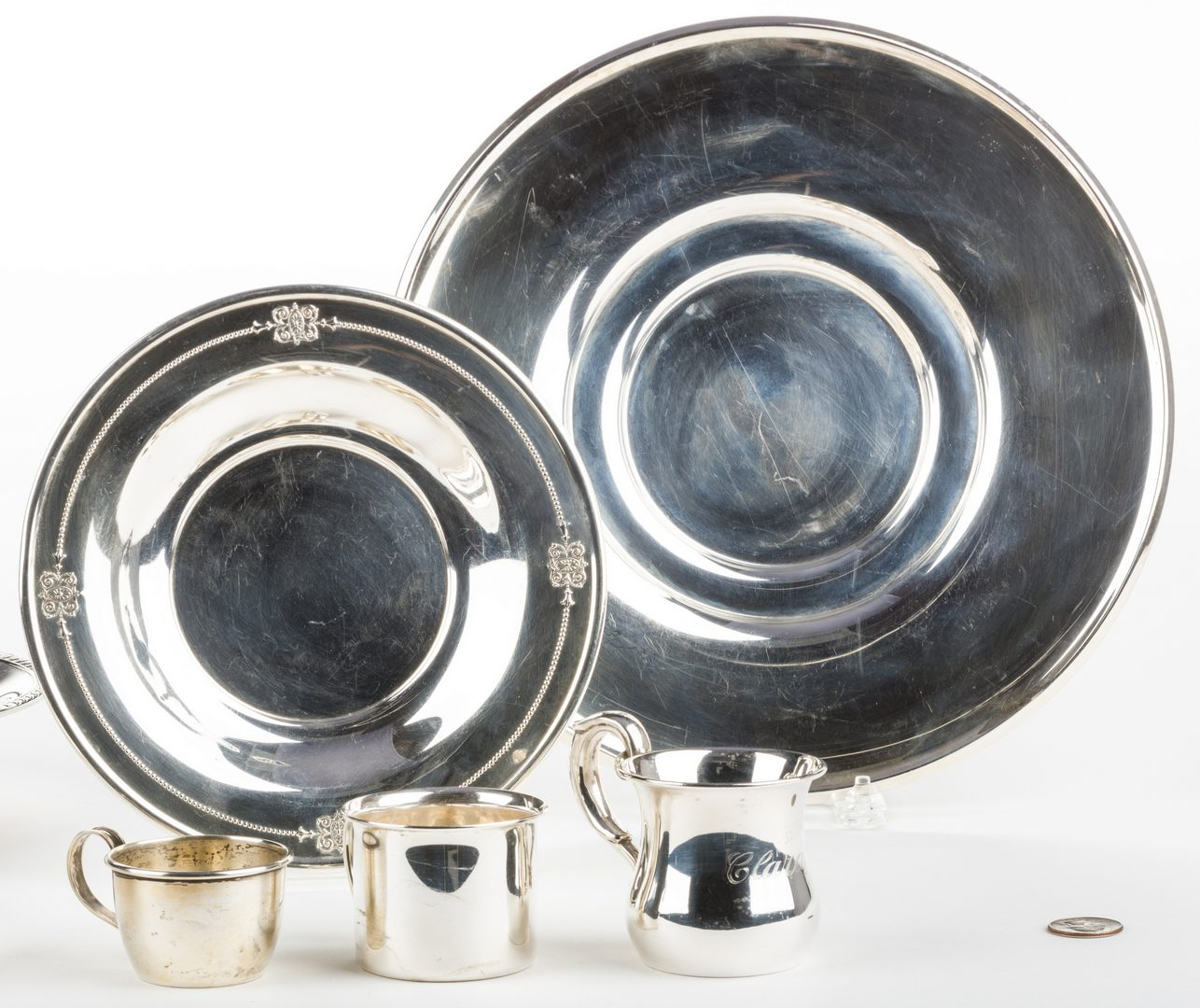 Lot 700: 8 Sterling Hollowware Items