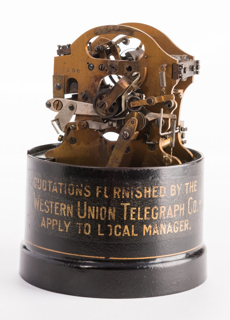 Lot 707: Western Union Model 35-A Ticker Tape Machine