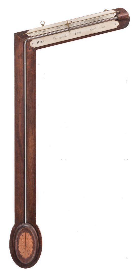 Lot 710: English Angle or Sign Post Barometer