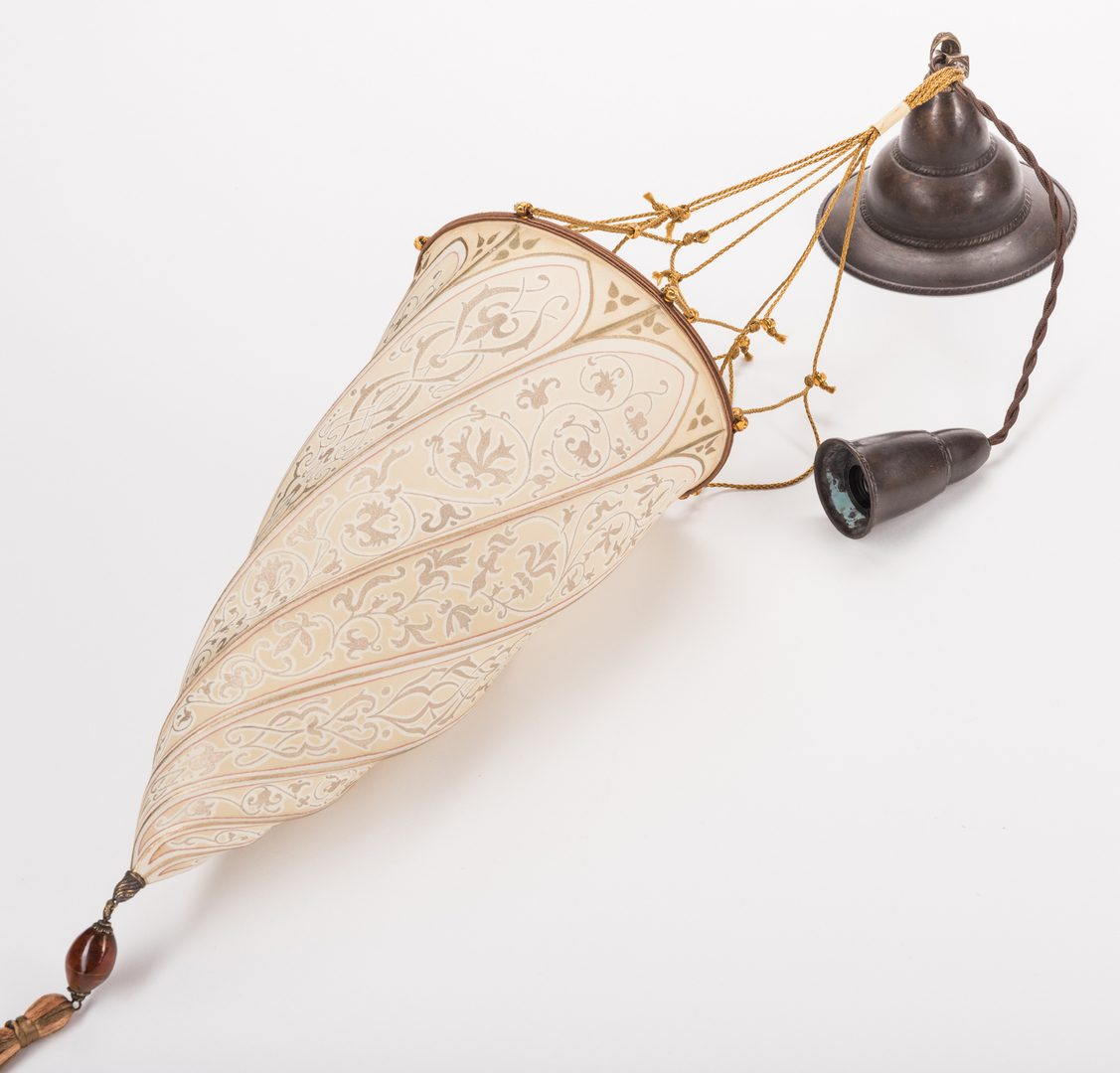 Lot 728: Venetia Studium 'Cesendello' Floor Lamp & Wall Sconces, 3 items