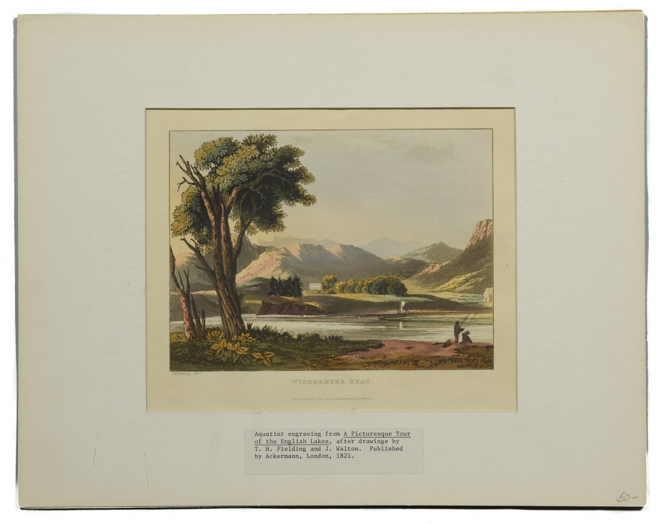 Lot 741: Large Group of English Prints, 8 total