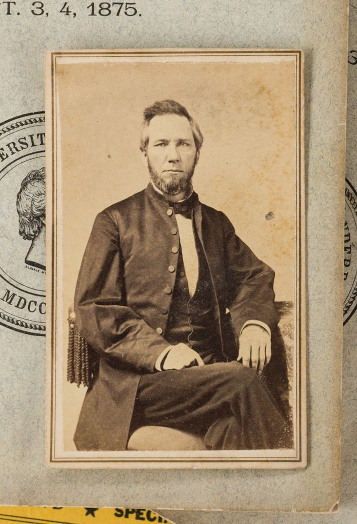 Lot 763: Vanderbilt University Archive, inc. CDV of McTyeire