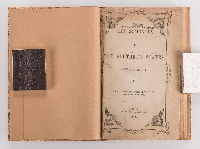 Lot 773: 2 19th Cent. Books, inc. Fremantle & Suckley