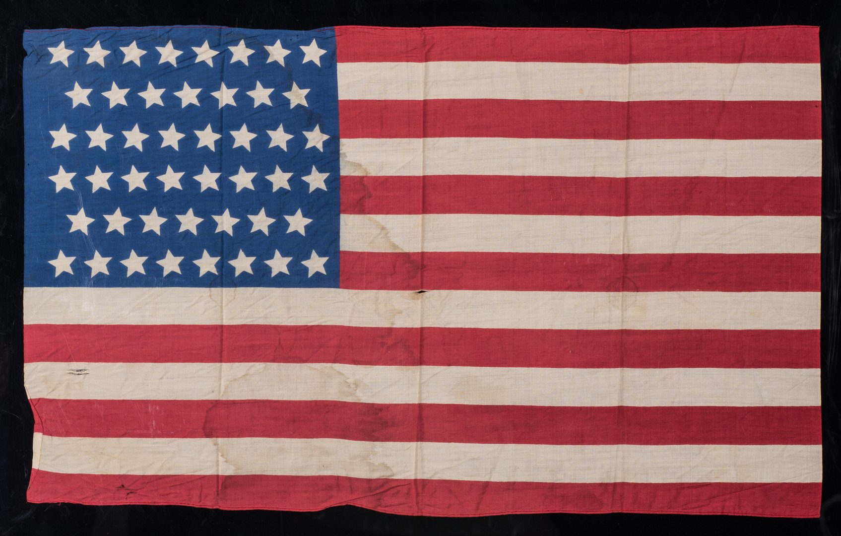 Lot 777: 2 American Flags, 38 Star & 46 Star