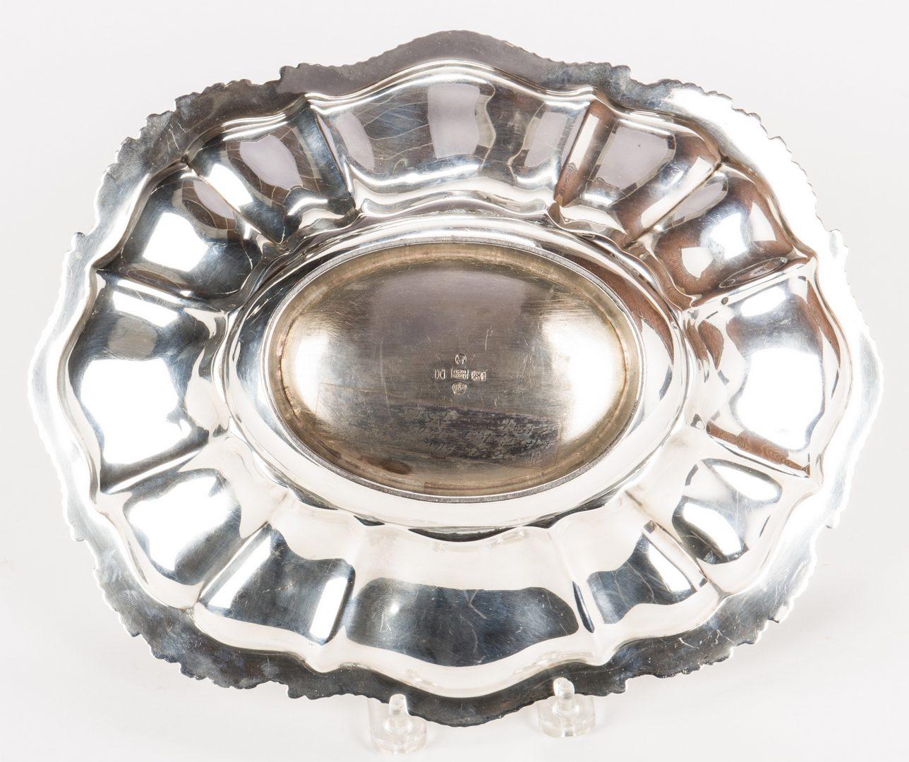 Lot 77: Kirkby, Waterhouse & Co. Sterling Oval Bowl