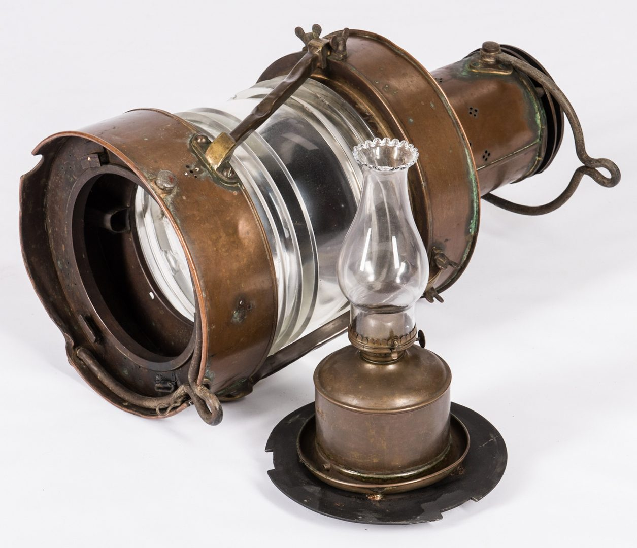 Lot 783: Telford, Grier & Mackay Ltd. Anchor Lantern
