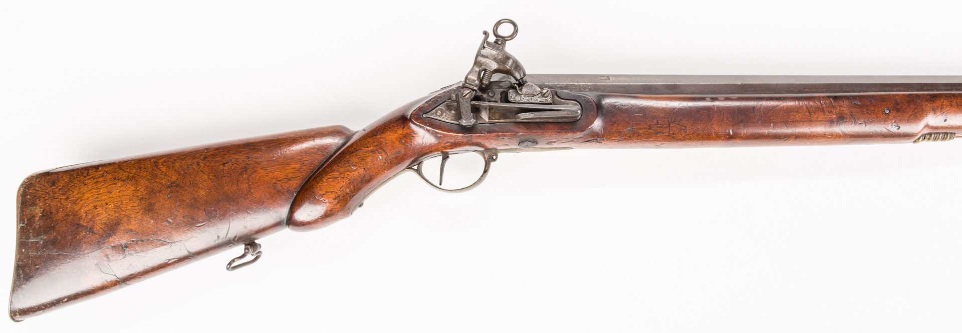Lot 788: Spanish Miquelet Wall or Rampart Musket