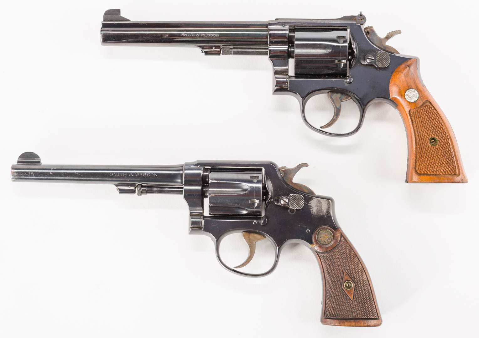 Lot 792: 2 Smith & Wesson  38 Cal  Special CTG Revolvers