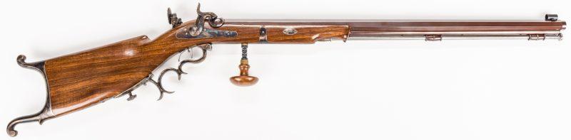 Lot 793: Pedersoli Waadtlander Target Rifle, .45 Caliber