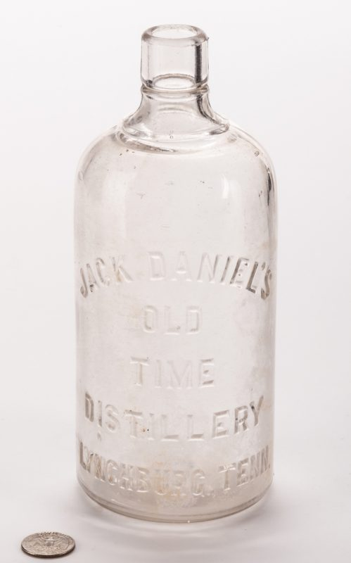 Lot 797: Jack Daniel's Old Time Whiskey Bottle