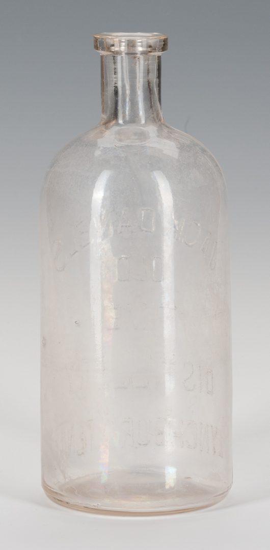 Lot 798: Jack Daniels Whiskey Bottle, 19th C.