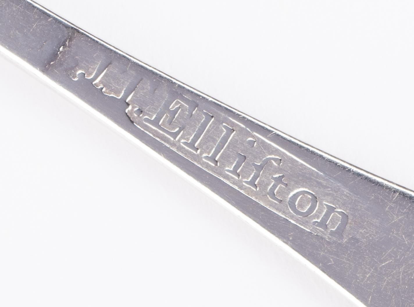 Lot 81: Joseph Elliston Nashville Coin Silver Teaspoon