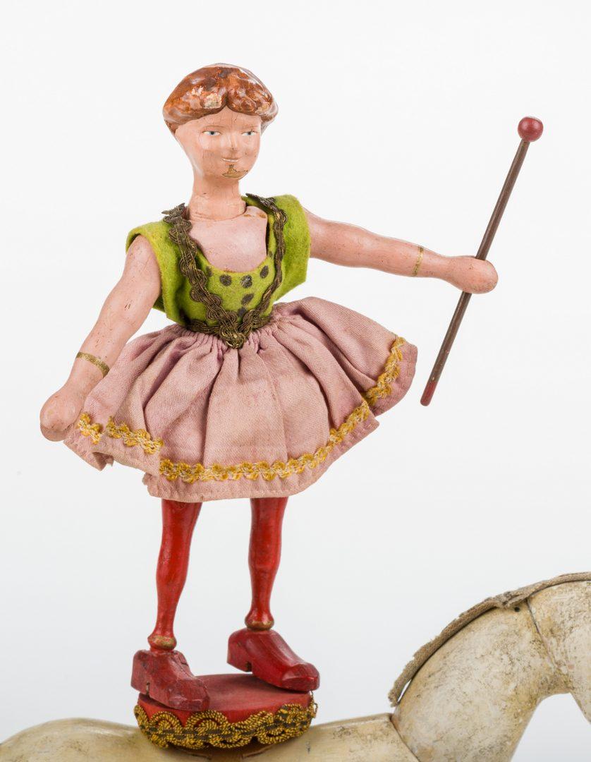 Lot 820: Schoenhut Circus Figure, Animals & Accessories, 12 pcs