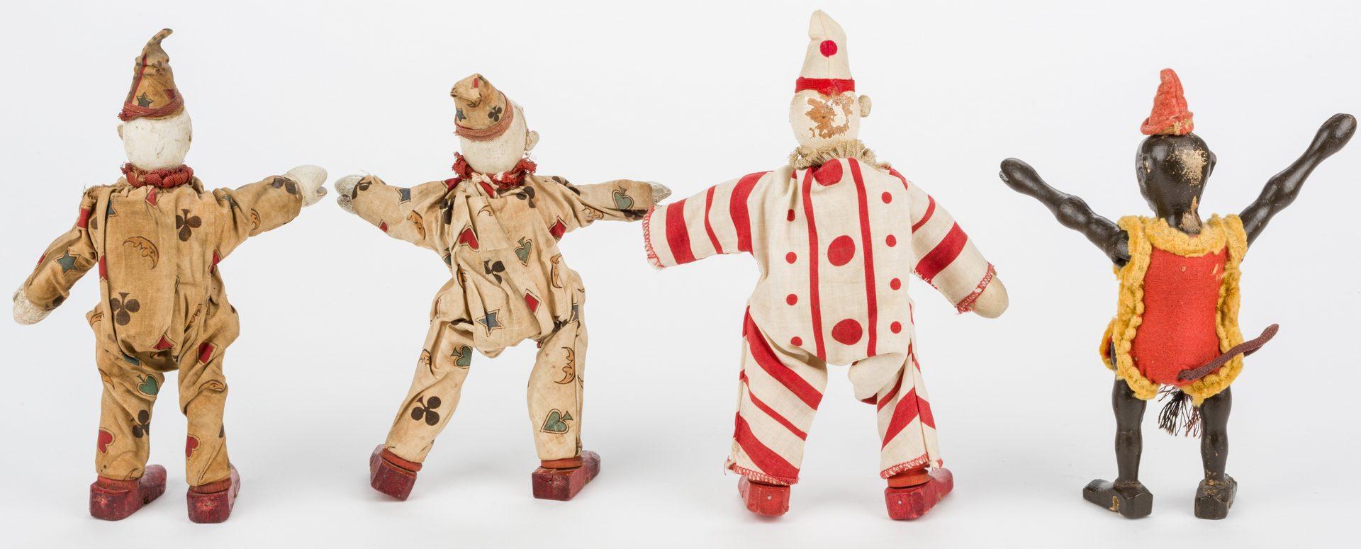 Lot 821: Schoenhut Circus Figures, Animals, & Accessories, 21 pcs